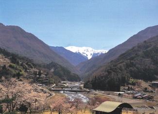 赤石岳と大鹿歌舞伎
